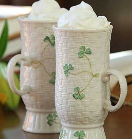 KITCHEN & ACCESSORIES BELLEEK IRISH COFFEE MUG PAIR