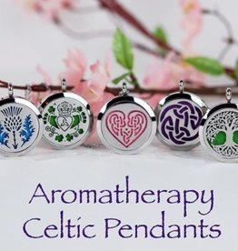 PENDANTS & NECKLACES CELTIC AROMATHERAPY PENDANT