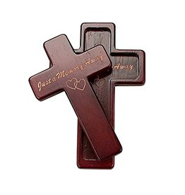 "CROSSES ""JUST A MEMORY"" WOODEN CROSS"