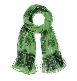 ACCESSORIES SHAMROCK CELTIC SCARF
