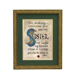 "PLAQUES, SIGNS & POSTERS ""SISTER BLESSING"" 8X10 PLAQUE"