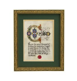 "PLAQUES, SIGNS & POSTERS ""TO MY CHILD"" MANUSCRIPT 8X10 PLAQUE"