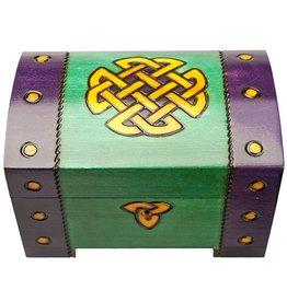 DECOR CELTIC KNOT CHEST BOX