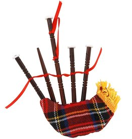 ORNAMENTS TARTAN BAGPIPE ORNAMENT