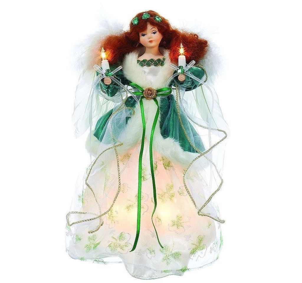 ANGELS IRISH ANGEL TREE TOPPER - Irish Crossroads