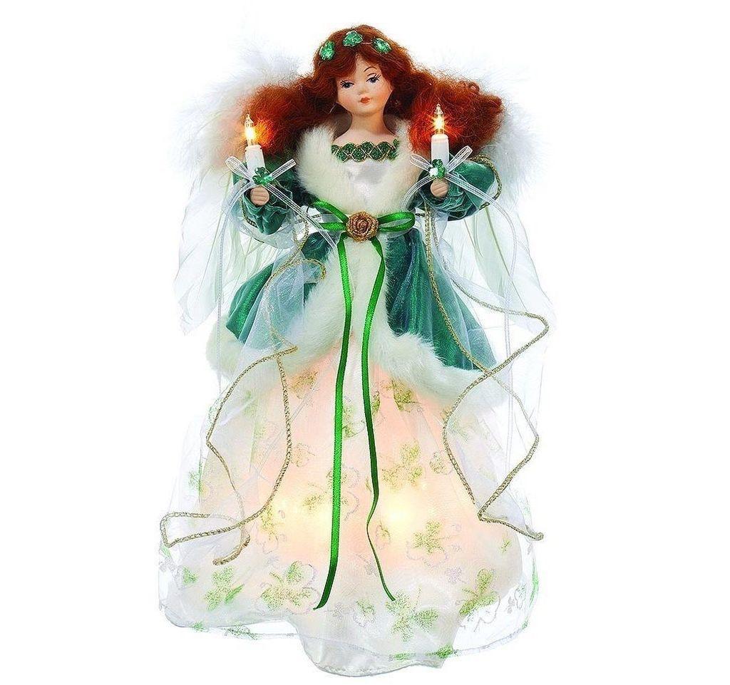 ANGELS IRISH ANGEL TREE TOPPER - Irish Crossroads