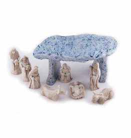 HOLIDAY DECOR O'Gowna DOLMEN NATIVITY SET (9pc)