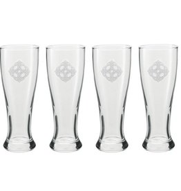KITCHEN & ACCESSORIES CELTIC KNOT GRAND PILSNER 20oz GLASSES (4)