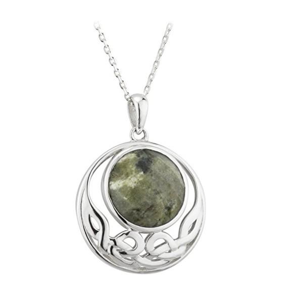Pendants necklaces solvar sterling connemara open knotwork pendants necklaces solvar sterling connemara open knotwork pendant aloadofball Choice Image