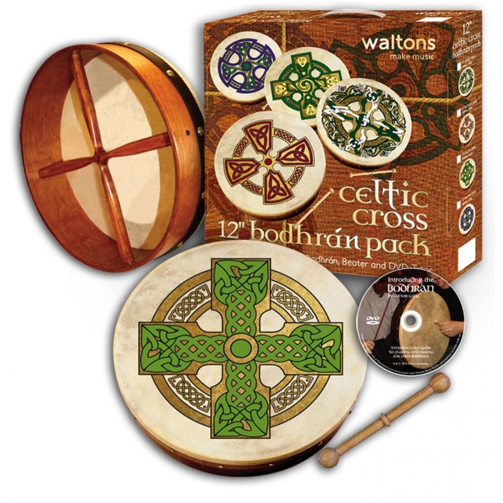 waltons 12 bodhran pack irish crossroads