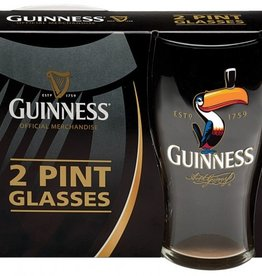 KITCHEN & ACCESSORIES GUINNESS TOUCAN PINT GLASSES - Set of 2