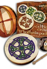 "TRADITIONAL IRISH GIFTS WALTONS 12"" BODHRAN PACK"