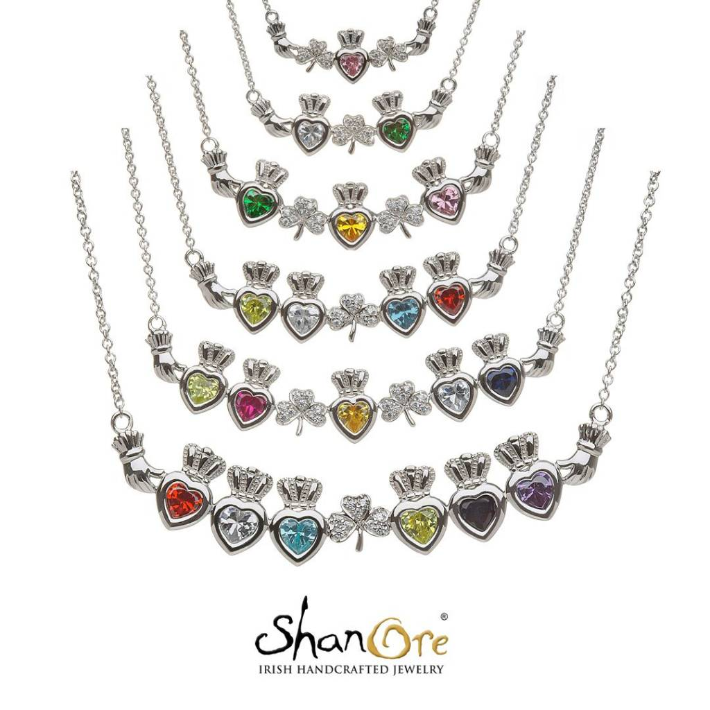 name jewelry limoges heart silvertone necklace birthstone family