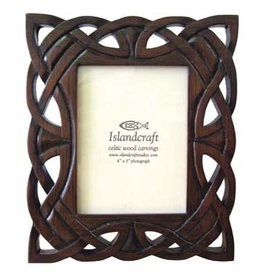 "FRAME ISLANDCRAFT 4x5"" CELTIC WOODEN FRAME"