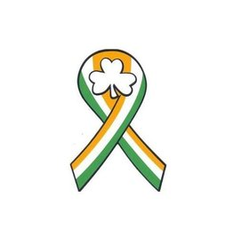 KEYCHAINS/CAR/ETC IRISH RIBBON CAR MAGNET