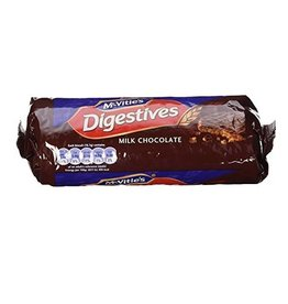 MISC FOODS MCVITIE'S MILK CHOCOLATE DIGESTIVES