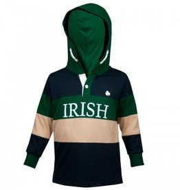 KIDS CLOTHES CROKER KIDS HOODED RUGBY JERSEY