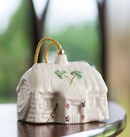 ORNAMENTS BELLEEK KILLYBEG'S FISHERMAN COTTAGE ORNAMENT