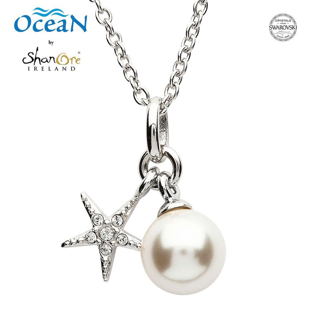 Pendants necklaces oceans sterling mini starfish pendant with pendants necklaces oceans sterling mini starfish pendant with pearl swarovski crystals aloadofball Gallery