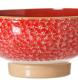 KITCHEN & ACCESSORIES NICHLAS MOSSE SALAD BOWL - RED LAWN