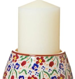 CANDLES NICHOLAS MOSSE REVERSE CANDLESTICK & CANDLE - WILD FLOWER