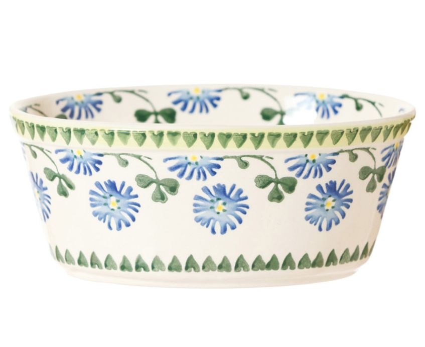 KITCHEN & ACCESSORIES NICHOLAS MOSSE SMALL OVAL PIE DISH - CLOVER