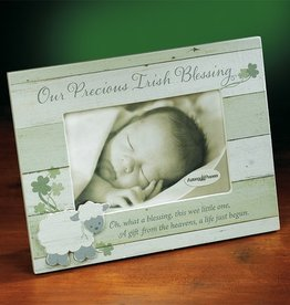 "DECOR ""OUR PRECIOUS IRISH BLESSING"" BABY FRAME"
