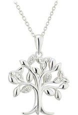 PENDANTS & NECKLACES SOLVAR SILVER TREE OF LIFE PENDANT