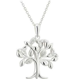 PENDANTS & NECKLACES SOLVAR STERLING TREE OF LIFE PENDANT
