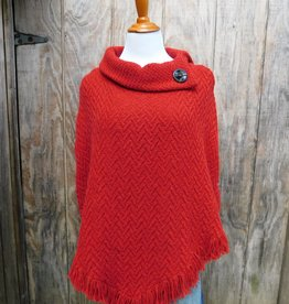 CAPES & RUANAS BRANIGAN WEAVERS AMY SHAWL - Red