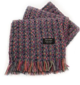 ACCESSORIES BRANIGAN WEAVERS SCARF - CONNEMARA VIOLET
