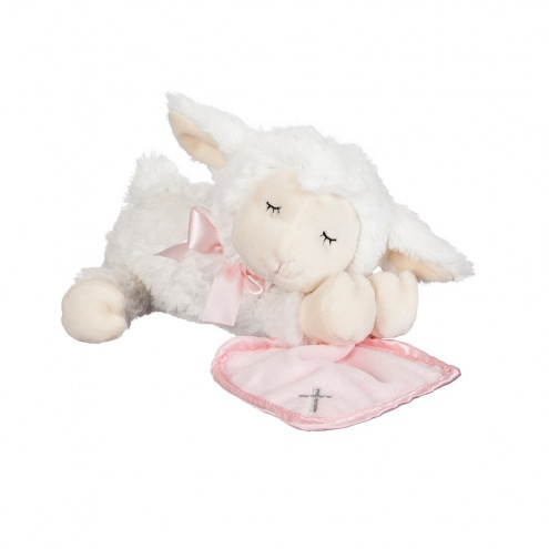 KIDS RELIGIOUS PRAY WITH ME LITTLE LAMB - PINK