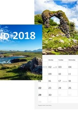 MISC NOVELTY IRELAND CALENDAR - 2018