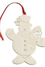 ORNAMENTS BELLEEK LIVING ORNAMENT with GEMS ORNAMENT