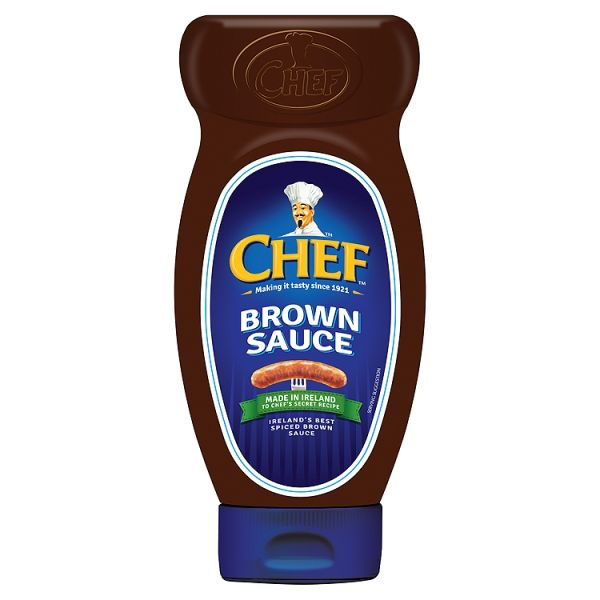 MISC FOODS CHEF SQUEEZY BROWN SAUCE (17.1oz)