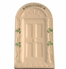 DECOR BELLEEK WELCOME DOOR WALL PLAQUE