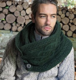 ACCESSORIES NUA SUPER SOFT KNIT SNOOD - GREEN