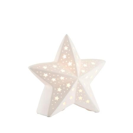 CANDLES & LIGHTING BELLEEK LUMINAIRES STAR LAMP