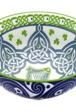 """VASES & BOWLS IRISH HARP 4.25"""" CLARA BOWL"""