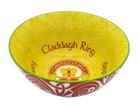 "VASES & BOWLS CLADDAGH RING 4.25"" CLARA BOWL"