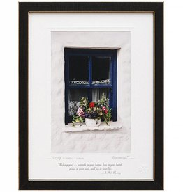 PLAQUES & GIFTS COTTAGE WINDOW PRINT 9X12