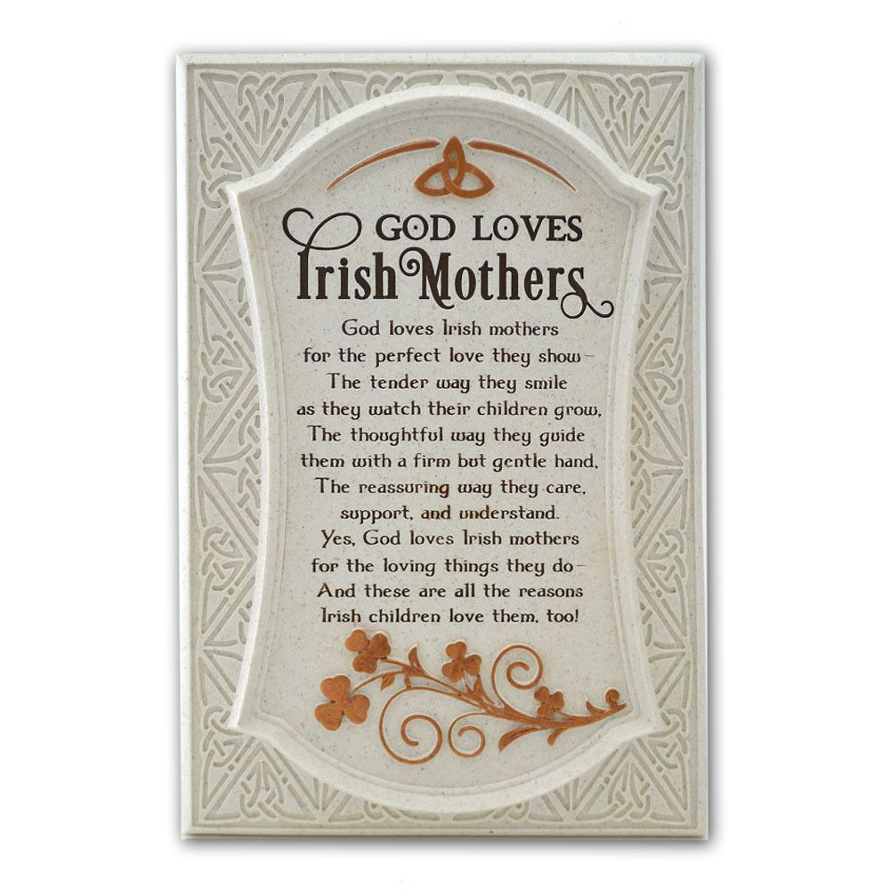 irish mother plaque irish crossroads