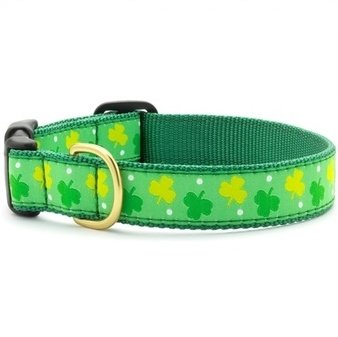 COLLARS & LEASHES SHAMROCKS COLLAR