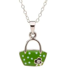 PENDANTS & NECKLACES CLEARANCE - LITTLE MISS STERLING PURSE PENDANT - FINAL SALE