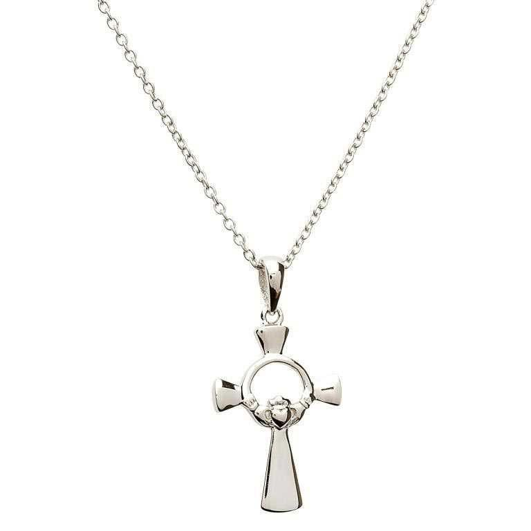 CROSSES SHANORE STERLING SML CLADDAGH CROSS