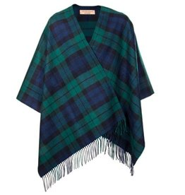 CAPES & RUANAS LOCHCARRON SERAPE - BLACKWATCH