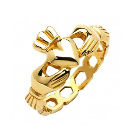 "RINGS FADO 10K LADIES ""MO CHROI CLADDAGH"" RING"