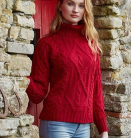 SWEATERS TRADITIONAL TURTLE NECK SWEATER