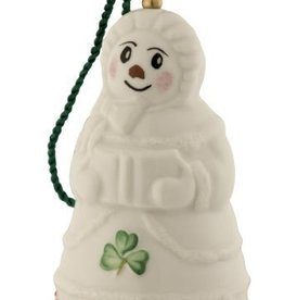 ORNAMENTS BELLEEK SNOWLADY BELL ORNAMENT