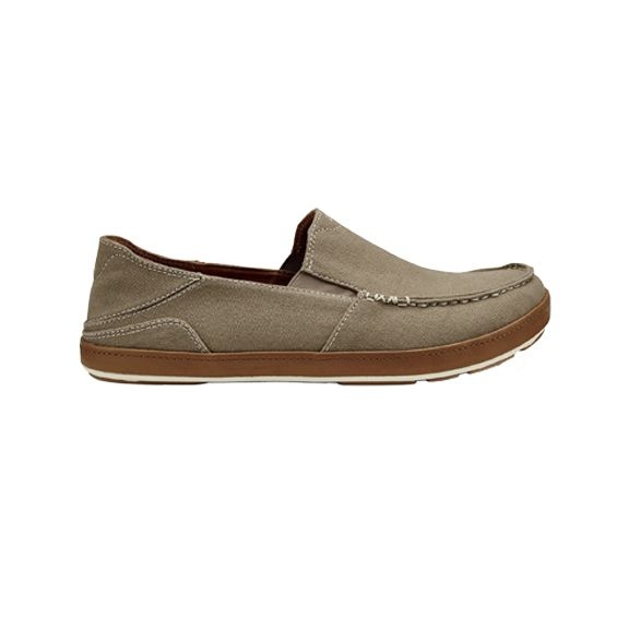 Olukai Men's Puhalu Canvas Slip-on
